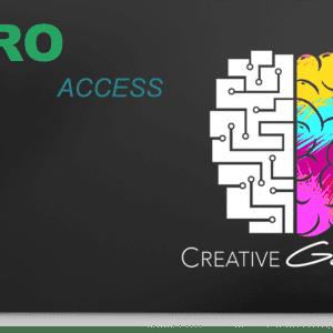 Creative Geniusess PRO Access